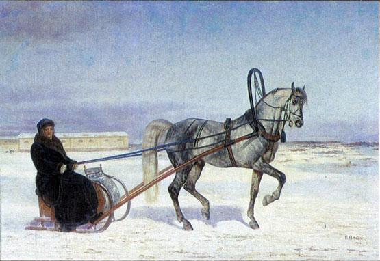 Орловский рысак, Барс 1